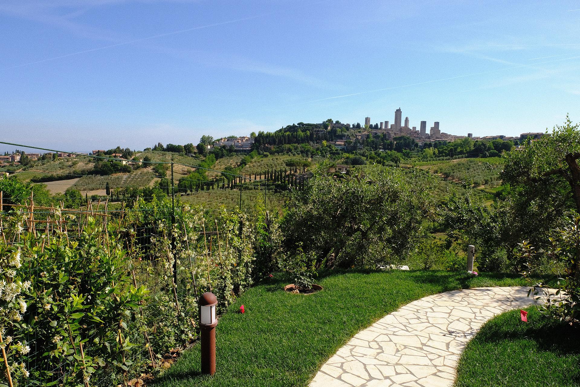 La Cornice – Il giardino