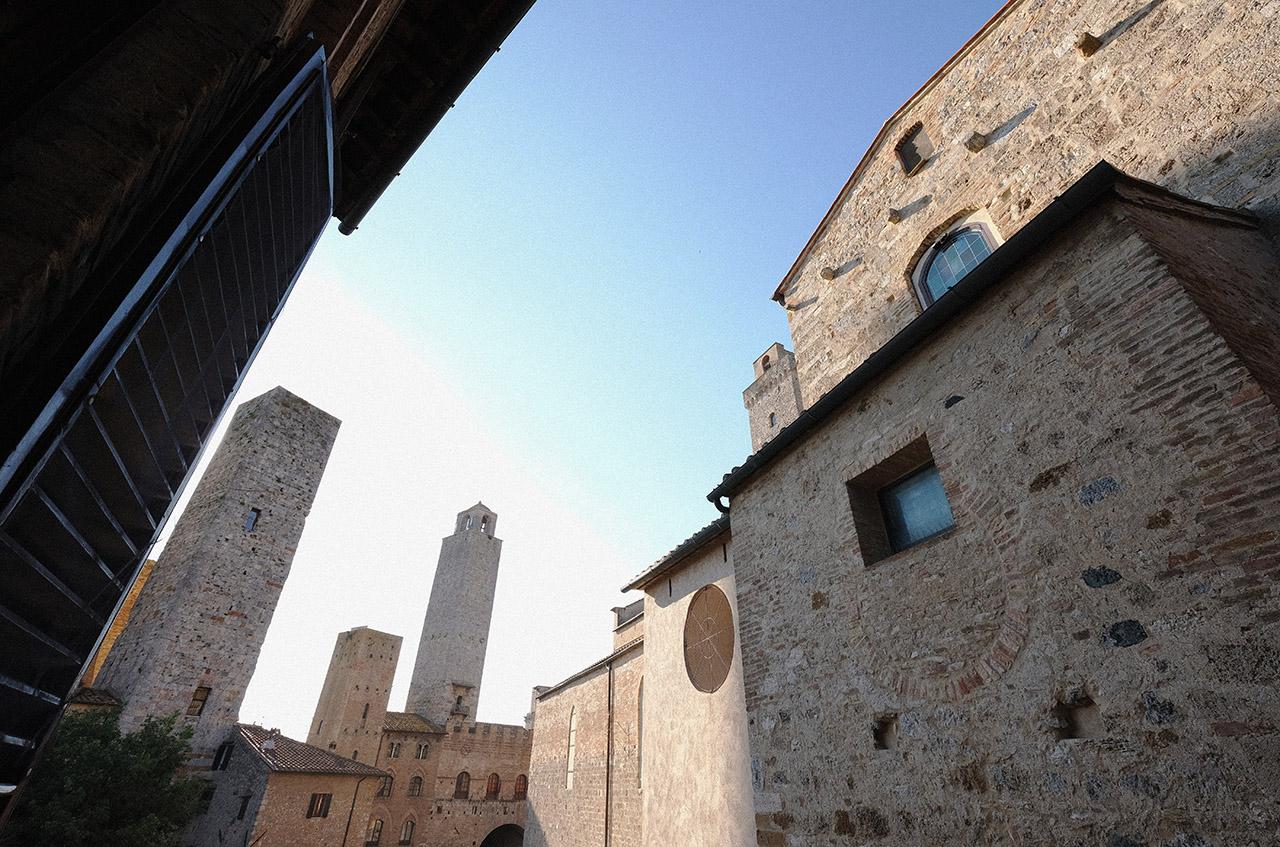 Panorama finestra Torretta