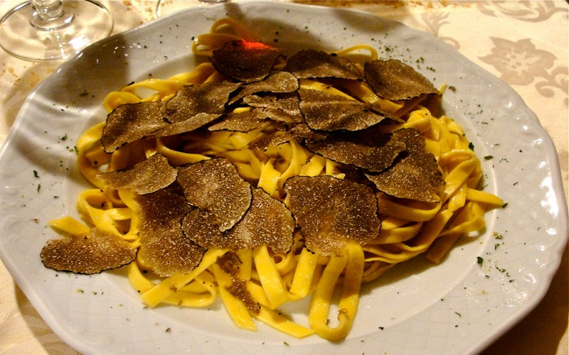 Tagliatelle al Tartufo Nero (Black Truffle)